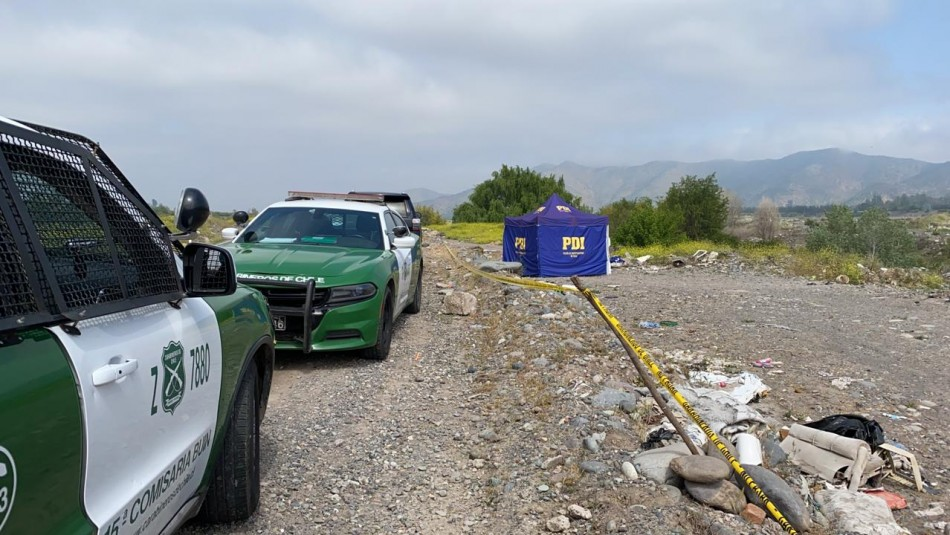 Encuentran cuerpo de joven baleado a orillas del río Maipo