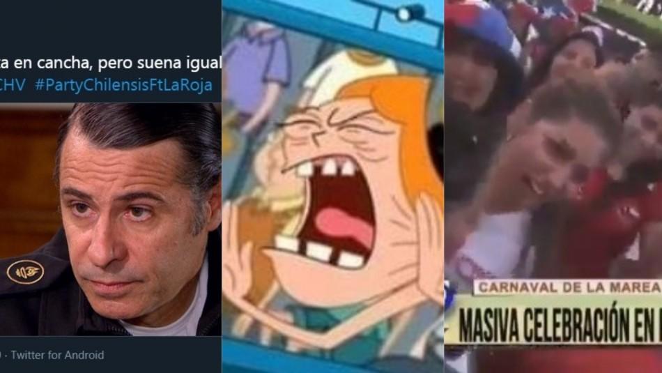 Los memes del partido de Chile-Colombia.
