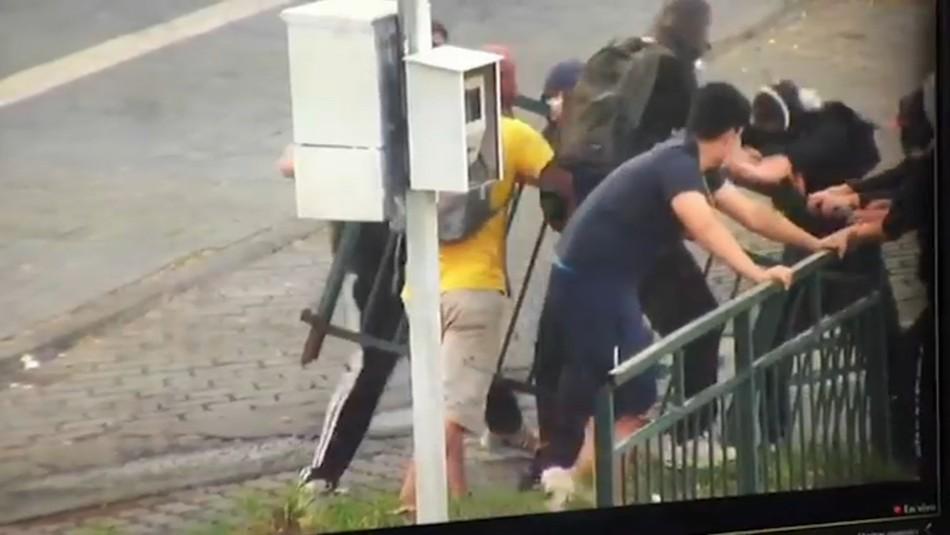 Jornada de incidentes en Puente Alto deja 3 detenidos, 3 carabineros lesionados y SAPU apedreado