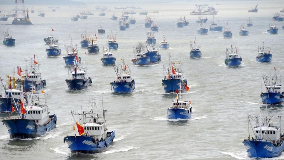 Flota de pesqueros chinos: La estrategia del Gobierno para la vigilancia de las embarcaciones