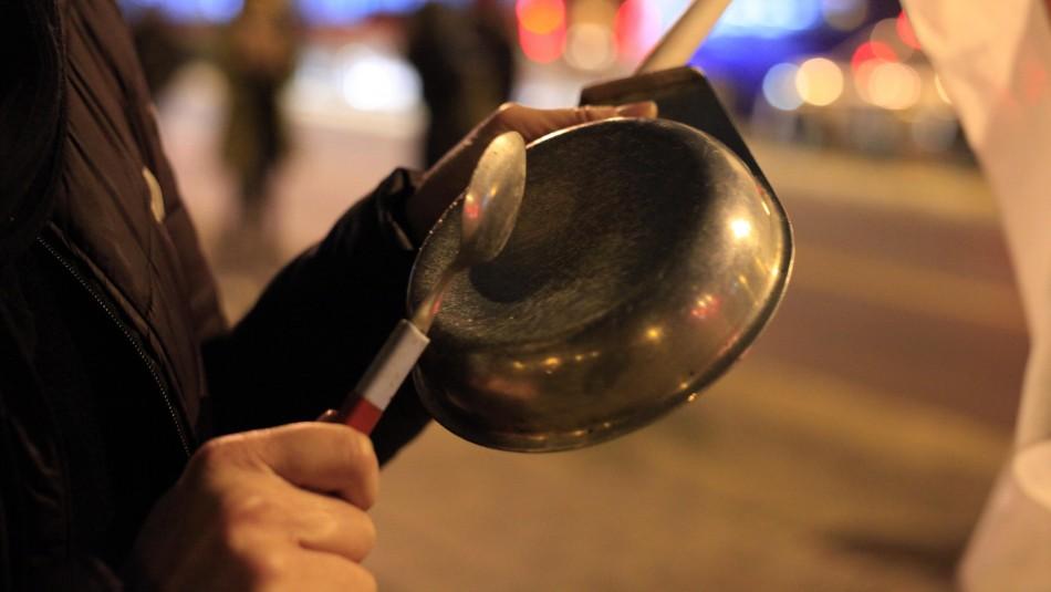 18-O: Se registraron cacerolazos en distintos puntos de Santiago