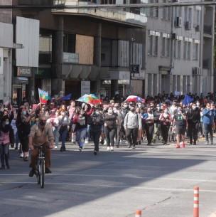 Distintas regiones del país viven nueva jornada de manifestaciones