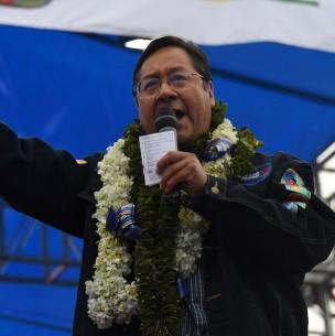 Piñera y otros mandatarios del mundo saludan triunfo de Luis Arce en Bolivia