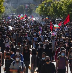 Balance de Carabineros por manifestaciones en Valparaíso: 34 personas fueron detenidas
