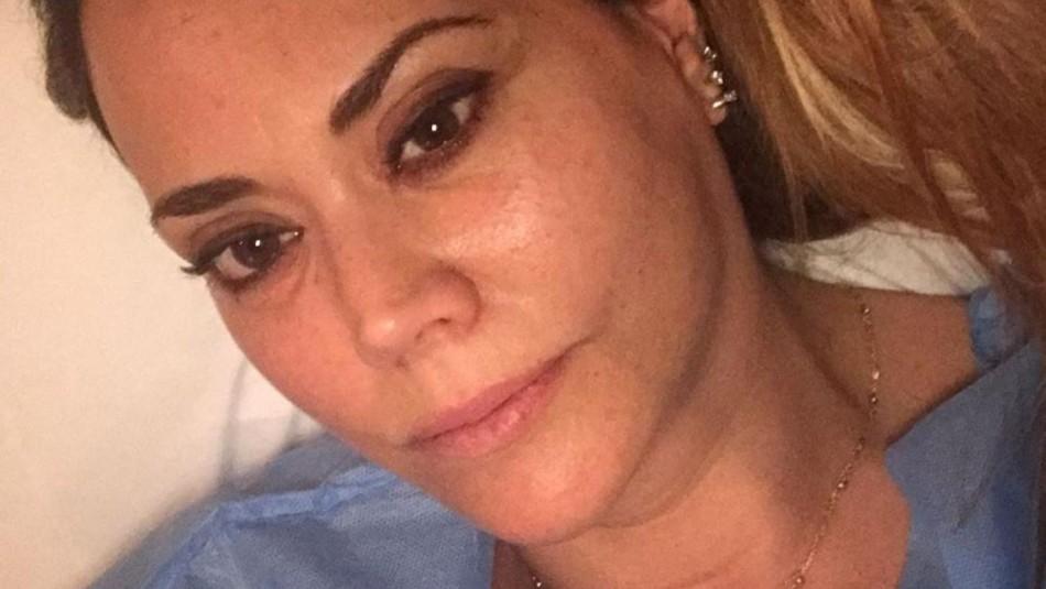 Daniella Campos fue sometida a operación para extraer tumores de su cabeza