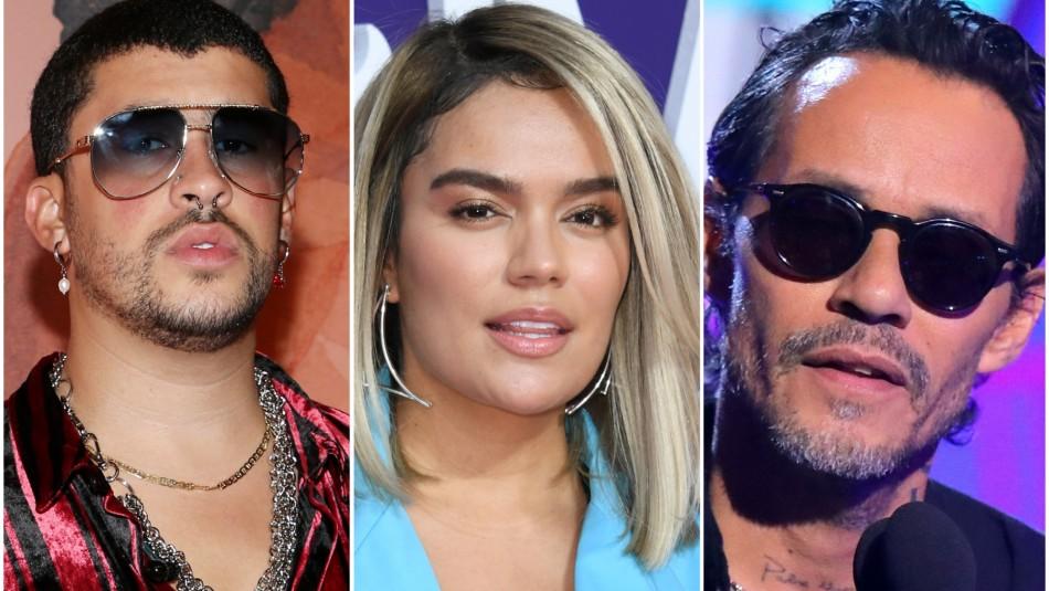 Con Bad Bunny y Karol G: Los artistas que se presentarán en los Latin Grammy 2020