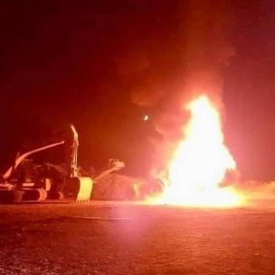 Ataque incendiario afecta a camiones y maquinarias en la Región de La Araucanía