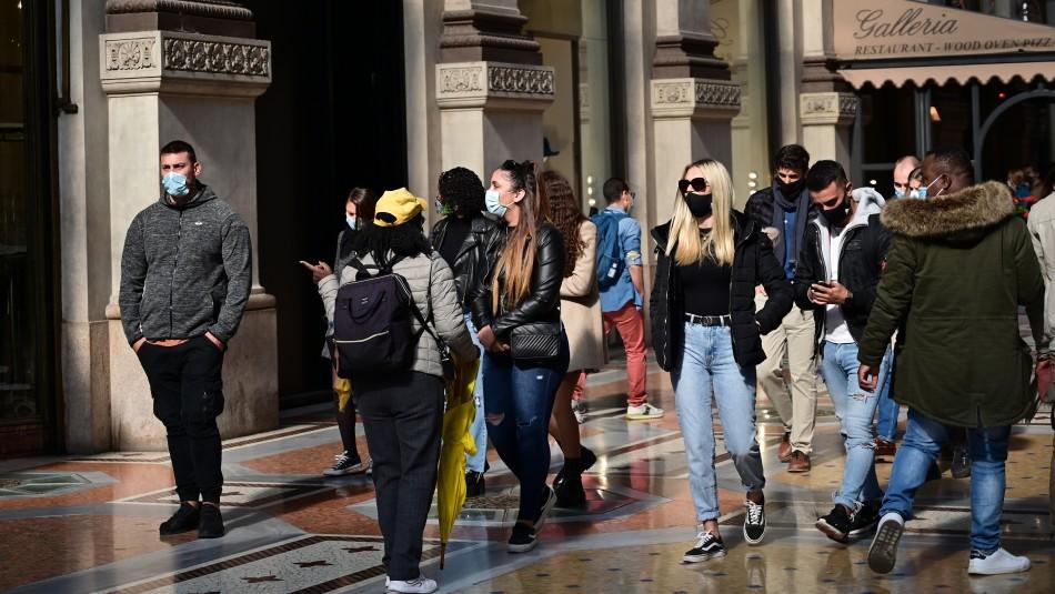 Coronavirus: Lombardía, región de Italia más afectada, alista toque de queda para frenar rebrote