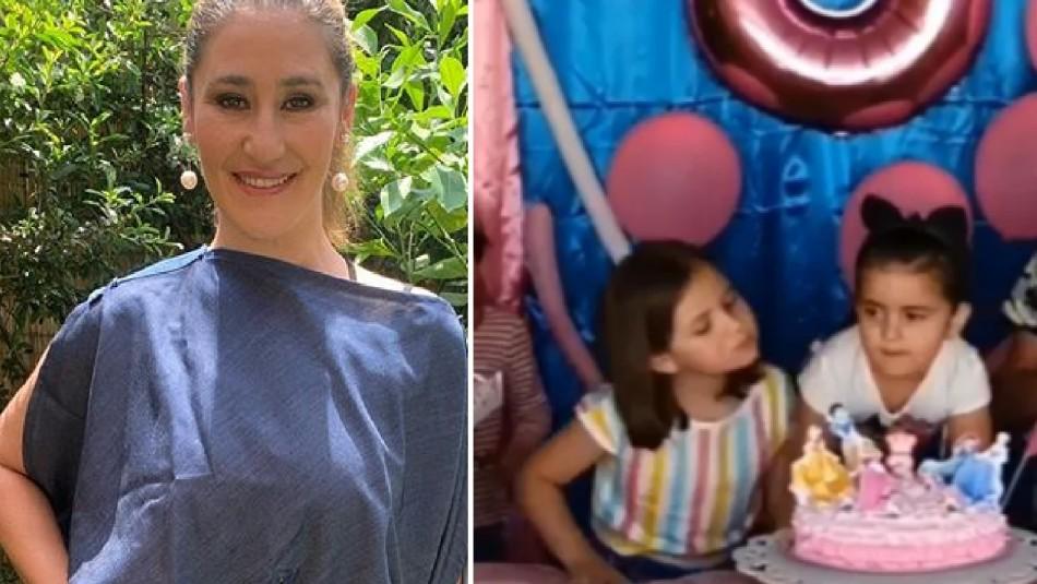 Belén Mora publica foto de su infancia y muestra su parecido con niña viral