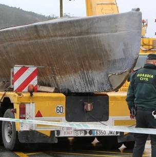 El narcosubmarino construido en el Amazonas y capturado en España con 3 toneladas de cocaína