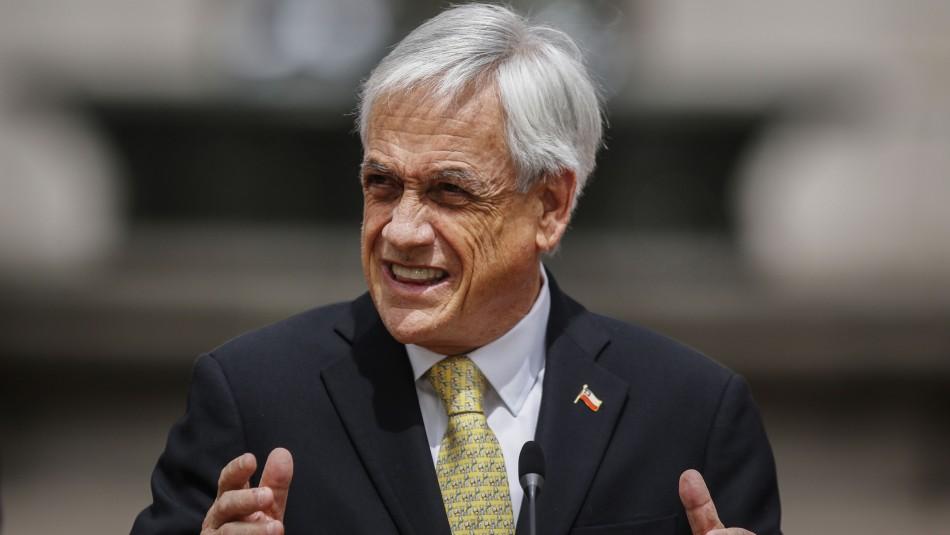 Piñera por informe de la DINE: Los antecedentes relevantes los pusimos a disposición de Fiscalía