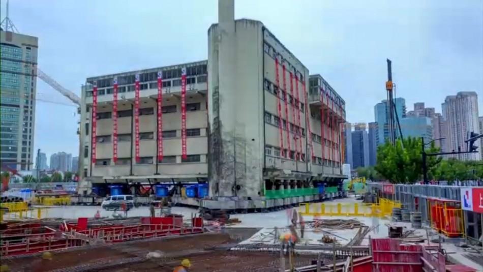 La minga china: Edificio