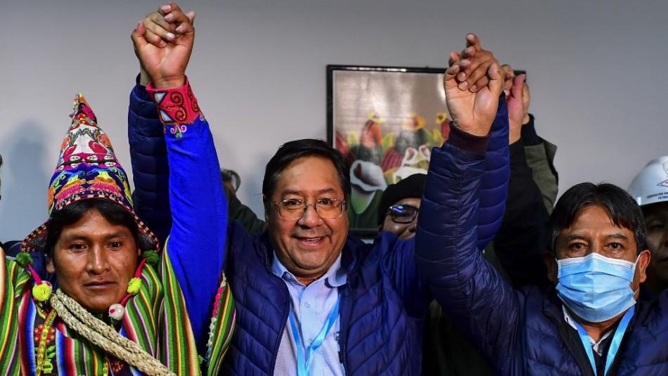 Tras largo escrutinio Luis Arce es proclamado presidente electo de Bolivia