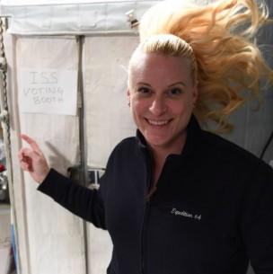 Astronauta votó desde el espacio para las elecciones de Estados Unidos