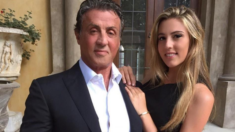 Modelo, influencer y deportista: así es Sophia, la hija de Silvestre Stallone