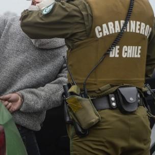 Carabineros reporta al menos 30 detenidos en jornada del Plebiscito