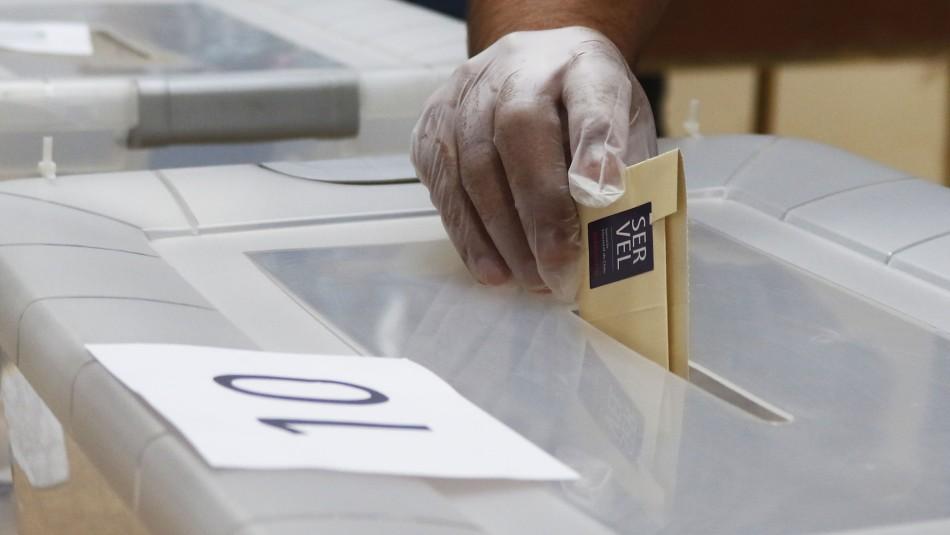 Horario votación
