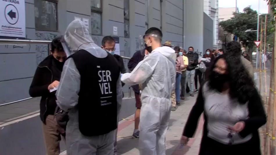 Video muestra alta participación en el Liceo de Aplicación en Santiago
