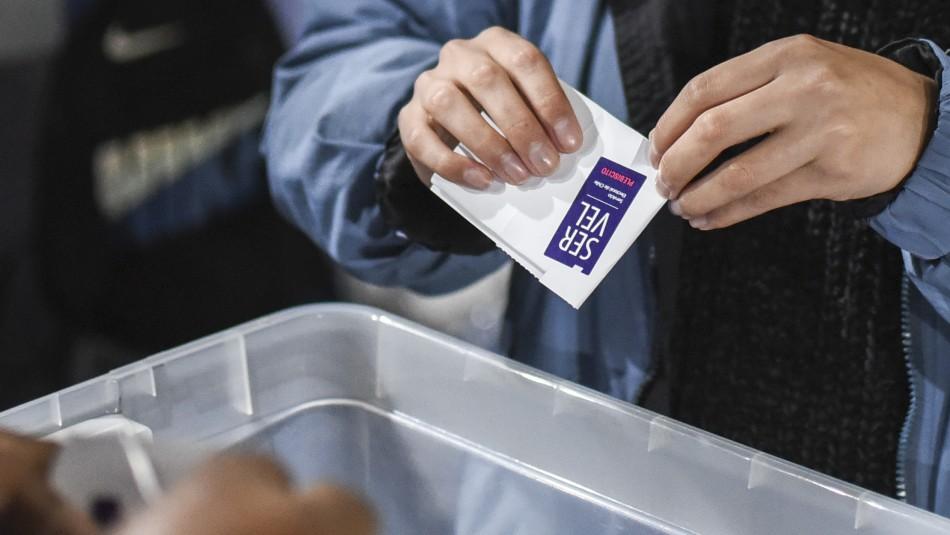Participación en Plebiscito es la más alta desde que el voto es voluntario
