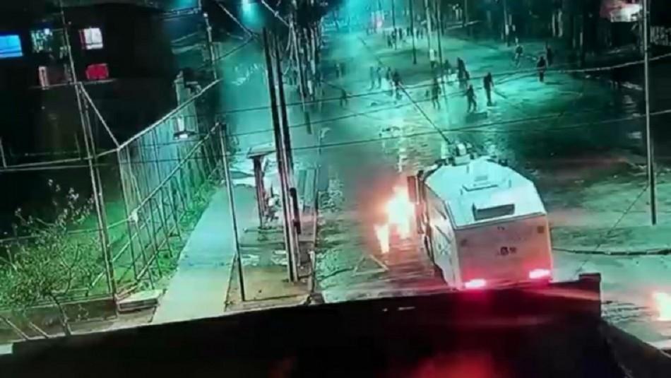 Confirman prisión preventiva para nueve imputados por ataques en subcomisaría de Peñalolén