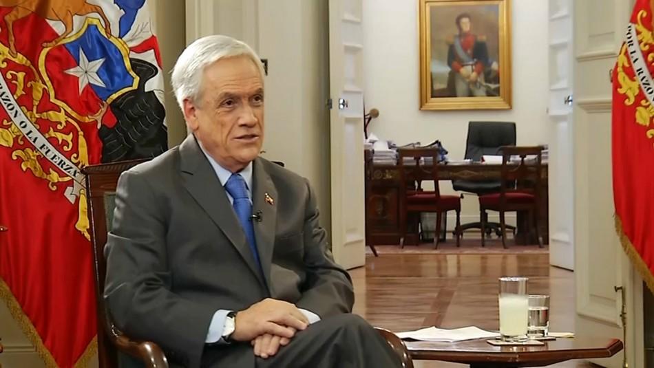 Piñera y Convención Constitucional: