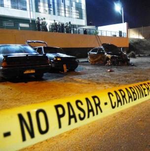 Saqueos y ataque a comisaría tras jornada de manifestaciones en distintas comunas