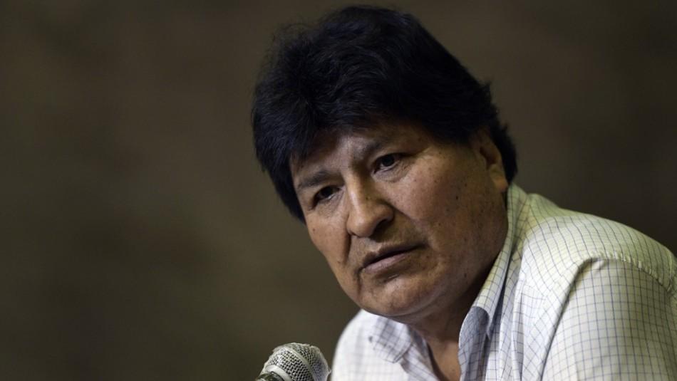 Anulan orden de detención contra Evo Morales en Bolivia