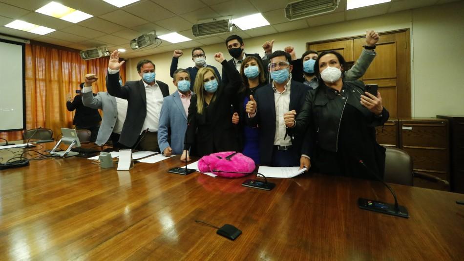 Segundo retiro de fondos AFP: Estos son los parlamentarios a favor del proyecto del 10%