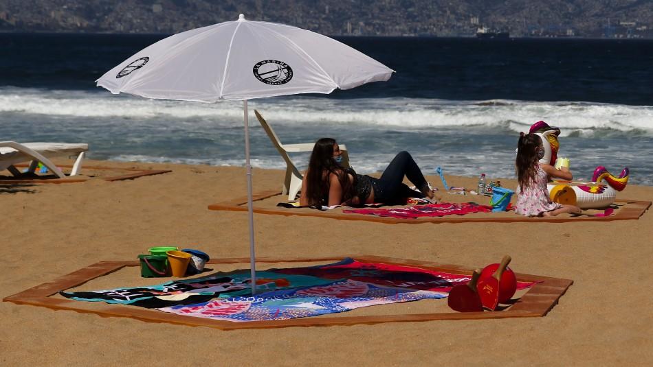 Uso de mascarilla en todo momento: Protocolo y guía de recomendaciones para uso de playas
