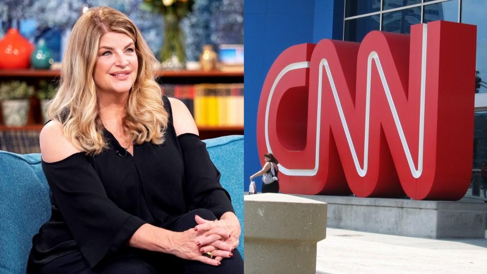 Actriz estadounidense se enfrenta a CNN a través de Twitter: Canal le dio polémica respuesta