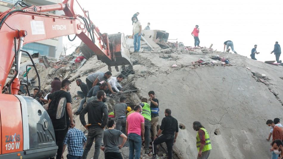 Cancillería chilena y terremoto en Turquía: