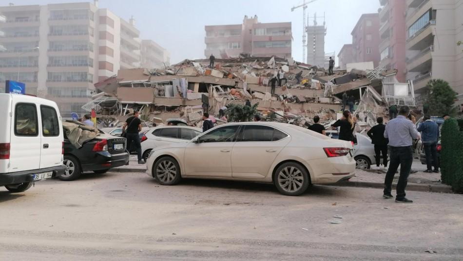 Terremoto y tsunami en Turquía y Grecia deja al menos 14 muertos 419 heridos