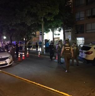 Carabinero frustró portonazo en Ñuñoa: Sospechoso resultó herido por un disparo