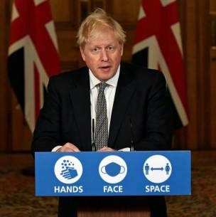Rebrote de coronavirus en Europa: Boris Johnson anuncia nuevo confinamiento de Inglaterra