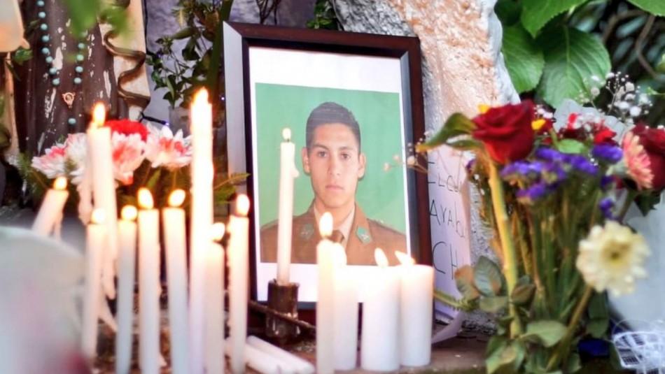 En forma privada se realiza responso del carabinero que fue asesinado en La Araucanía