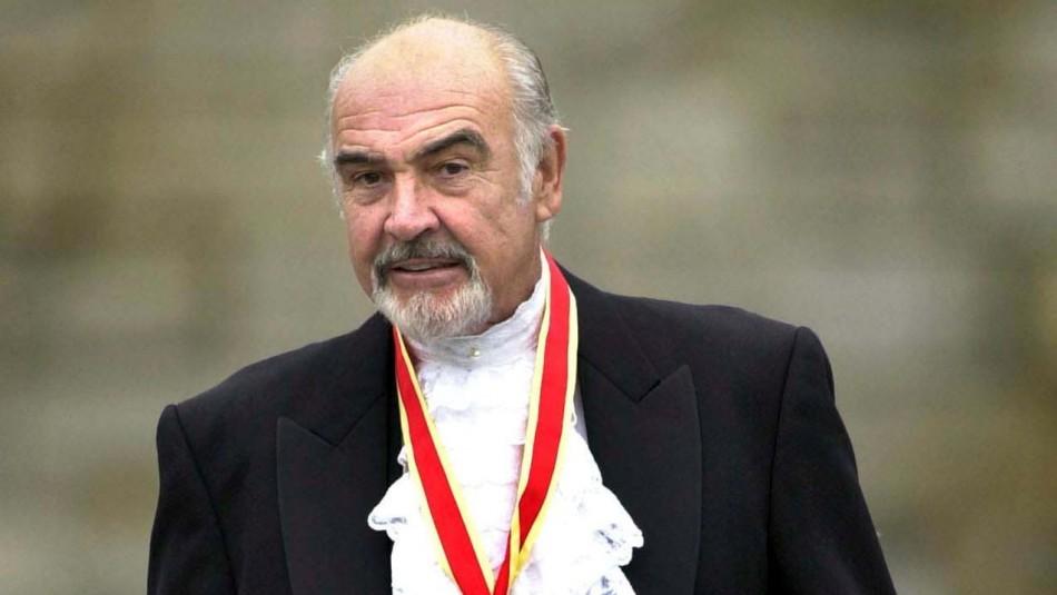 Muere a los 90 años el legendario actor británico Sean Connery