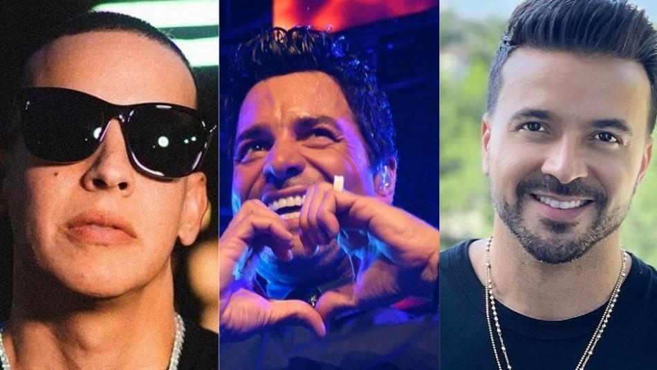 Daddy Yankee, Chayanne y Luis Fonsi juntos: la foto que explotó las redes