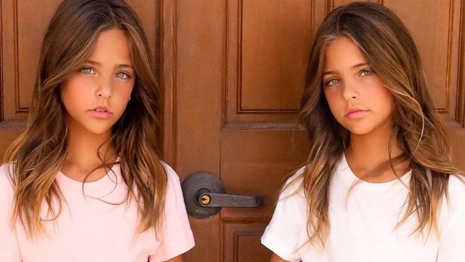 La gemelas más bellas del mundo conquistan las pasarelas y las redes sociales