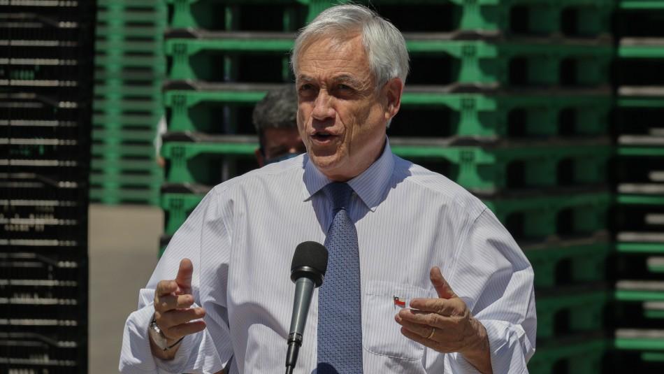 Piñera por ministro Pérez: