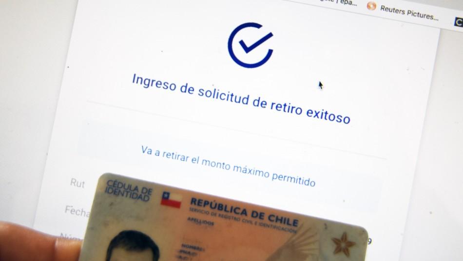 Segundo retiro 10%: Respaldo al proyecto sube al 85,7% según Pulso Ciudadano