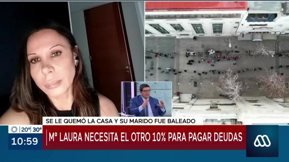 María Laura Donoso necesita segundo retiro del 10% por mal momento familiar: