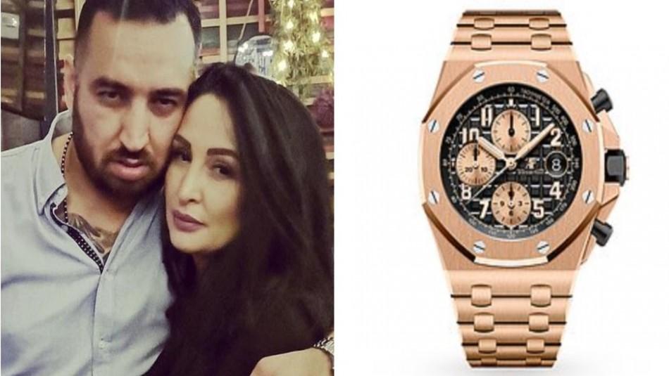 Pareja usó a su hijo de 6 años para robar un reloj de 66 millones de pesos en una lujosa joyería