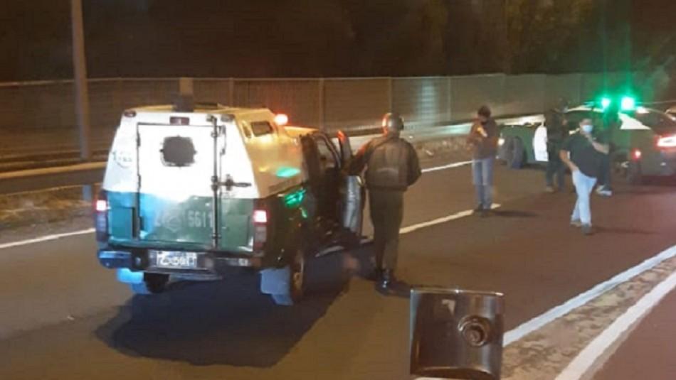 Desconocidos levantan barricadas y protagonizan balacera en Ercilla