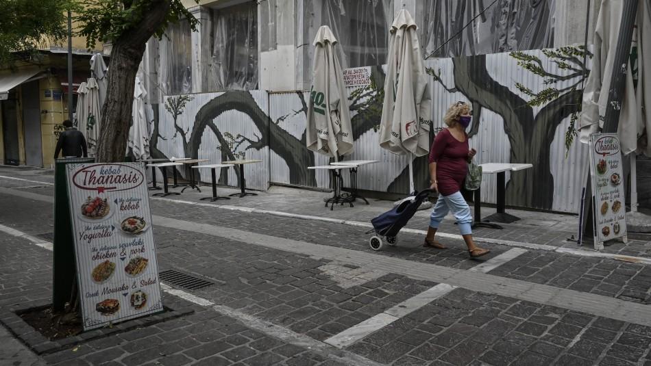 Grecia impone nuevo confinamiento: