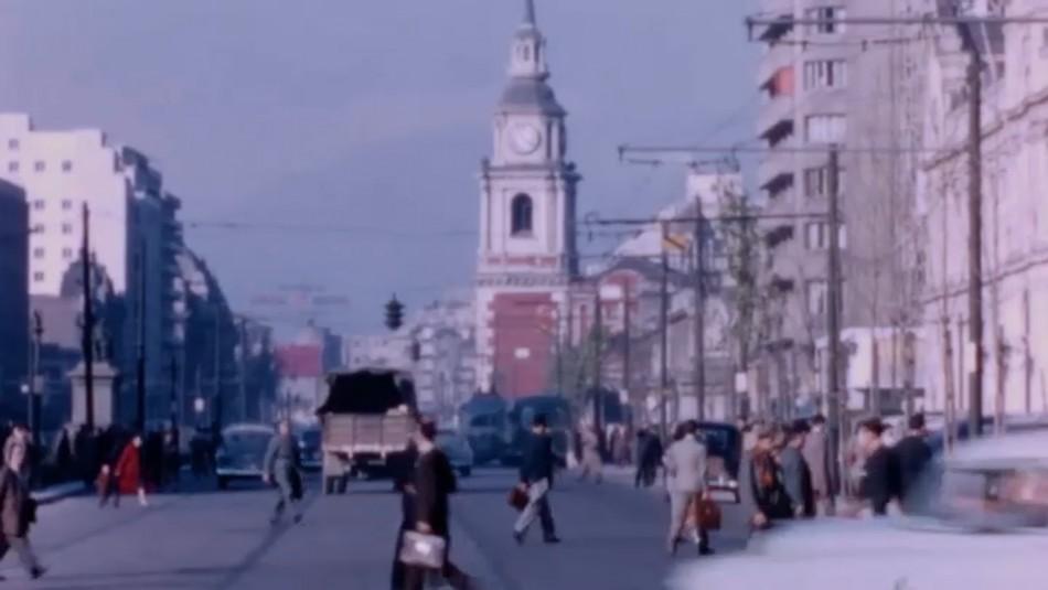 Inéditos registros visuales muestran cómo cambió Santiago en un siglo