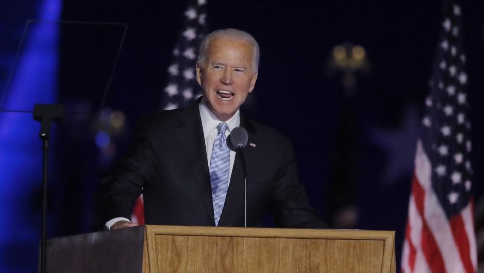 Biden da su primer discurso como presidente electo de EEUU:
