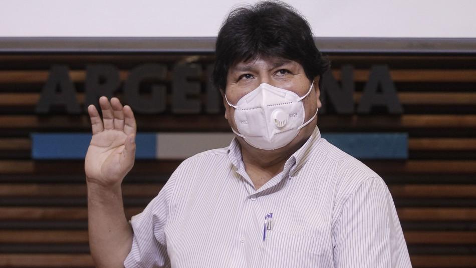 Evo Morales regresa a Bolivia: Presidente de Argentina lo despide en la frontera