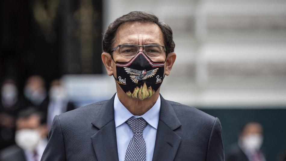 Destituyen a Martín Vizcarra como Presidente de Perú por