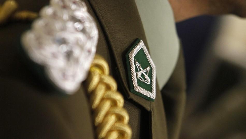 Oficial de carabineros es detenido y desvinculado por presuntas irregularidades en Rancagua