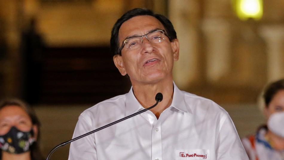 Presidente de Perú tras destitución por incapacidad moral: